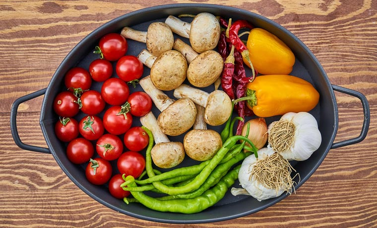 Gesunde Ernährung für den Körper