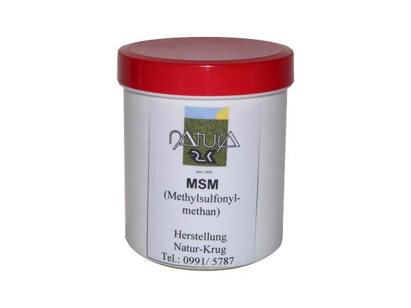 MSM - Ein natürlicher Schmerzkiller