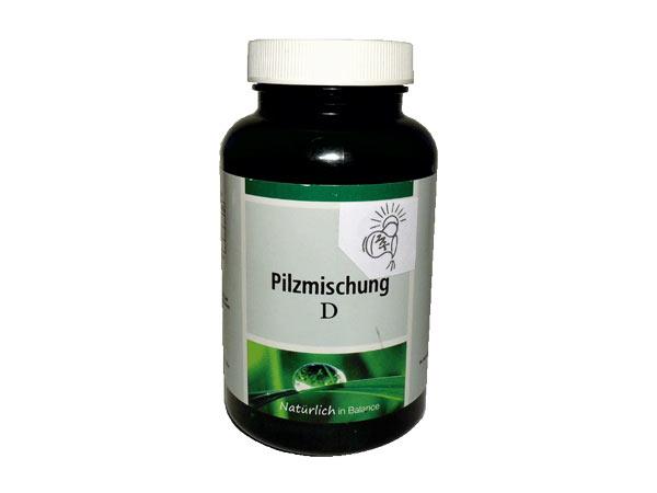 Pilzmischung D für einen gesunden Zuckerstoffwechsel
